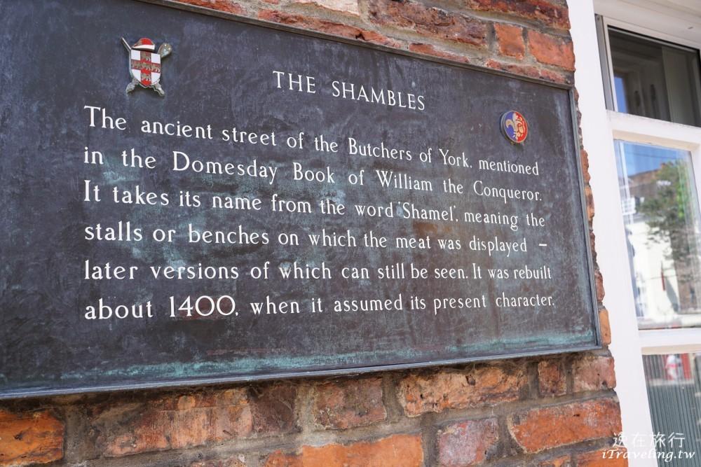 The Shambles, York, 約克, 肉舖街