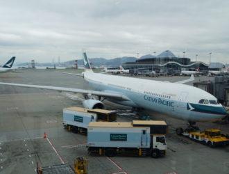 國泰航空 CX239 香港 倫敦