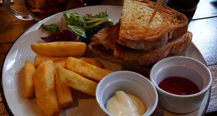 Mr. Fogg's Tavern Beef & Gerkin Sandwich